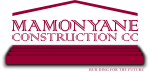 Mamonyane Construction Logo
